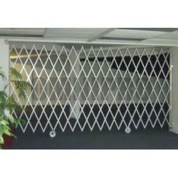 Omnipro Series-2 7m(L) x 2.1m(H) Full-Steel Mobile Trackless Barrier STO (Wall Mountable)