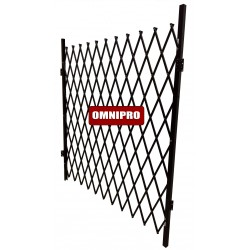 Omnipro Series-3 2m(L) x 2.1m(H) Multi-Purpose Full-Steel Mobile Trackless Barrier TTO (Wall Mountable)