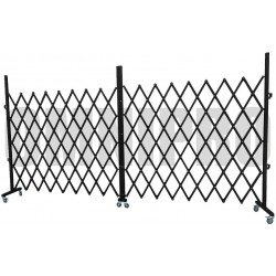 Omnipro Series-2 4m(L) x 2.1m(H) Full-Steel Mobile Trackless Barrier FTO (Wall Mountable)